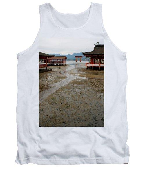 Itsukushima Shrine And Torii Gate Tank Top