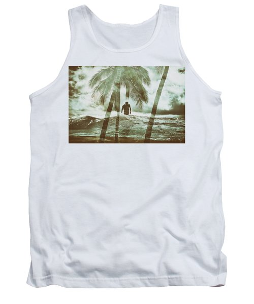 Izzy Jive And Palms Tank Top