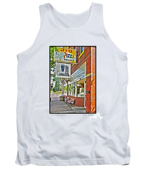 J And G Pizza Palace Tank Top