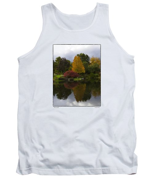 Tank Top featuring the photograph Japanese Garden by R Thomas Berner
