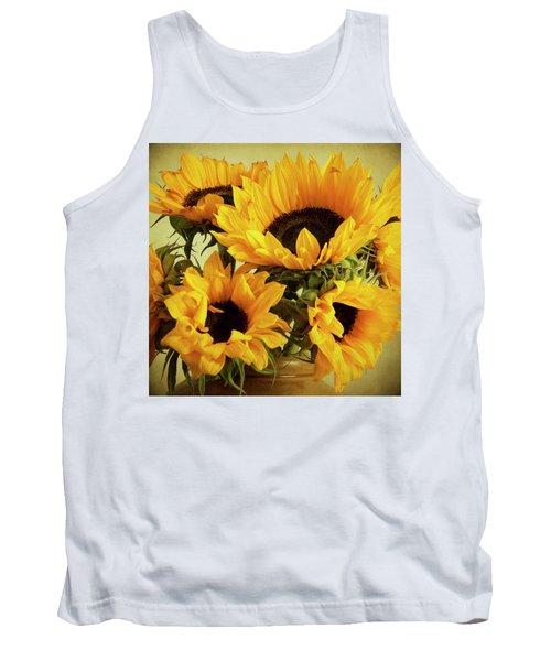 Jar Of Sunflowers Tank Top