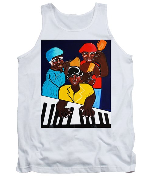Jazz Sunshine Band Tank Top by Nora Shepley