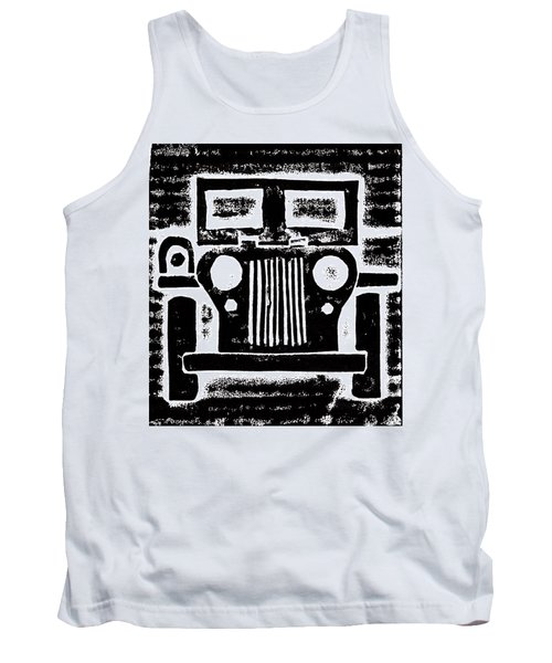 Jeep Tank Top by Jame Hayes