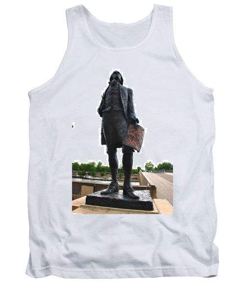 Jefferson In Paris Tank Top by Eric Tressler