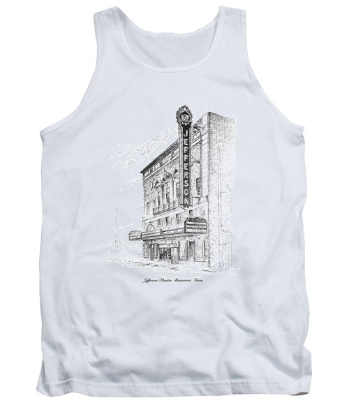 Jefferson Theatre Tank Top