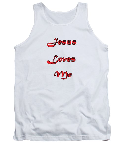 Jesus Loves Me Tank Top