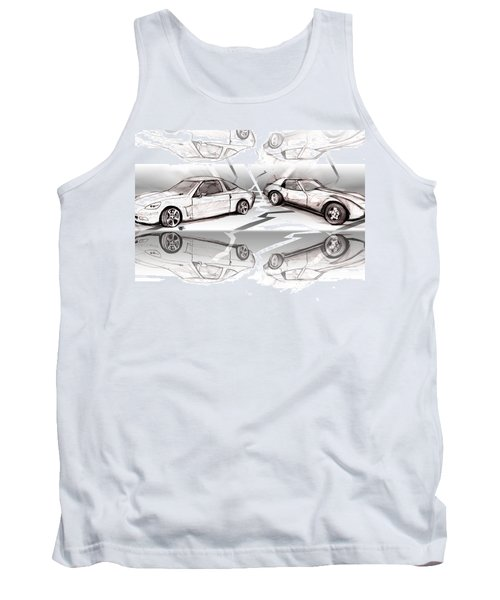 Jet Mikes Cars Tank Top