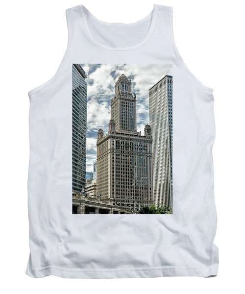 Jewelers Building Chicago Tank Top by Alan Toepfer