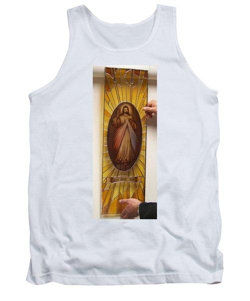 Jezu Ufam Tobie Tank Top