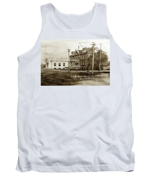 Jim Bardin Hospital The Hospital Was Located On The E Side Of Main Street  Circa 1910 Tank Top