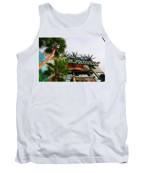 Jimmy Buffets Margaritaville In Las Vegas Tank Top
