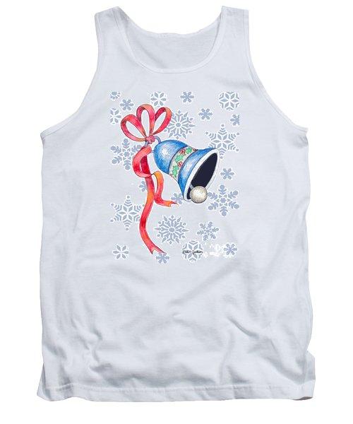 Jingle Bells And Snowflakes On Christmas Day Tank Top