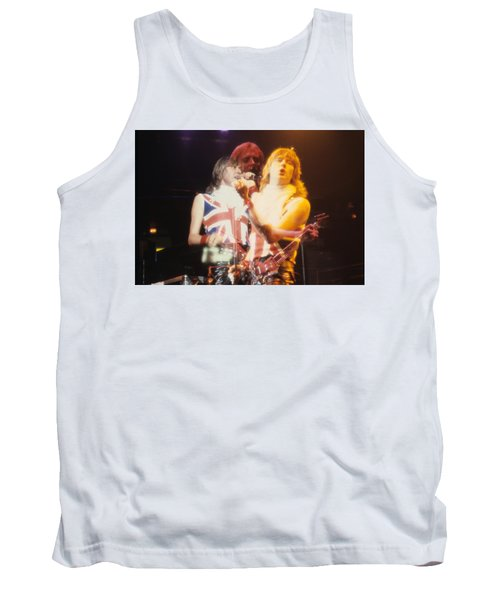 Joe And Phil Of Def Leppard Tank Top by Rich Fuscia