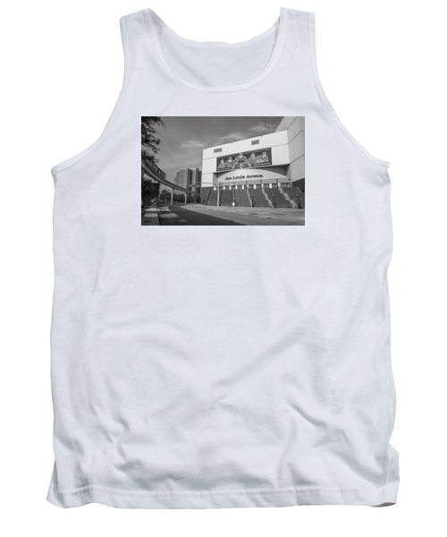 Joe Louis Arena Black And White  Tank Top