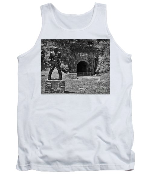 John Henry - Steel Driving Man Tank Top