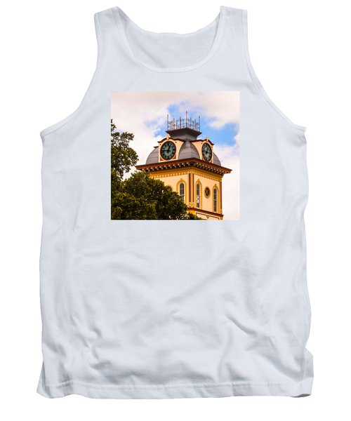 John W. Hargis Hall Clock Tower Tank Top