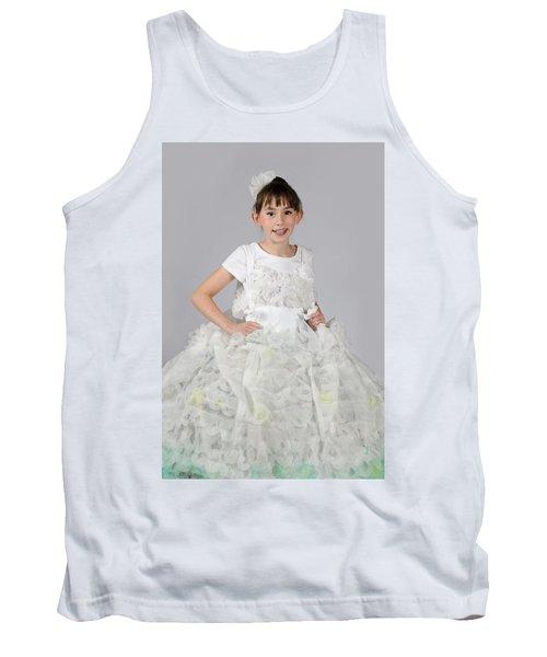 Josette In Dryer Sheet Dress Tank Top