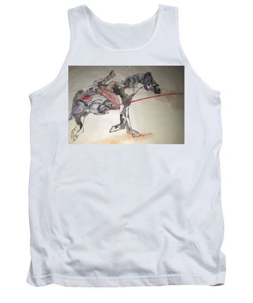 Jousting And Falcony Album  Tank Top by Debbi Saccomanno Chan