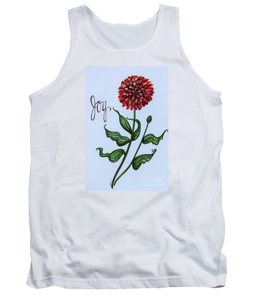 Tank Top featuring the painting Joy by Elizabeth Robinette Tyndall