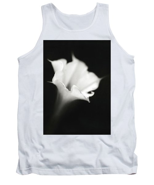 Tank Top featuring the photograph Just A White Flower by Eduard Moldoveanu