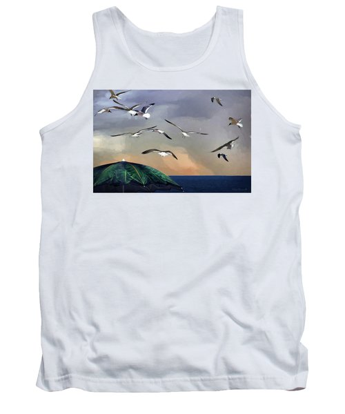 Just Another Day At The Beach Tank Top