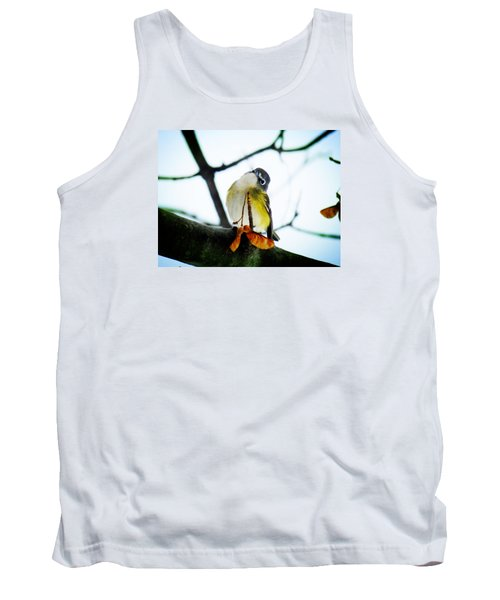 Just Curious Tank Top by Zinvolle Art