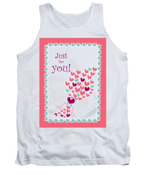 Just For You Tank Top by Hye Ja Billie