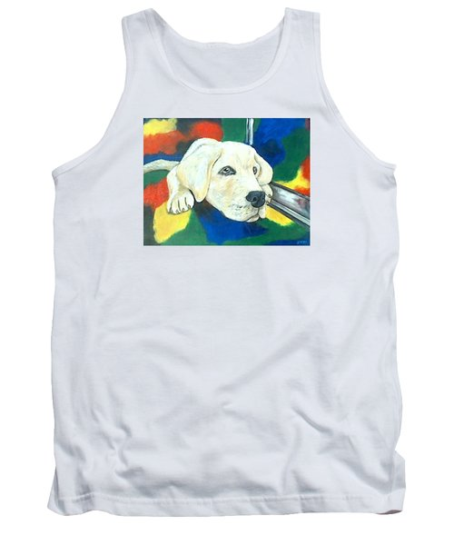 Just Waiting Tank Top by Jenny Pickens