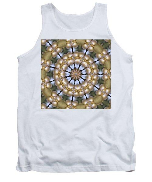 Tank Top featuring the digital art Kaleidoscope 130 by Ron Bissett