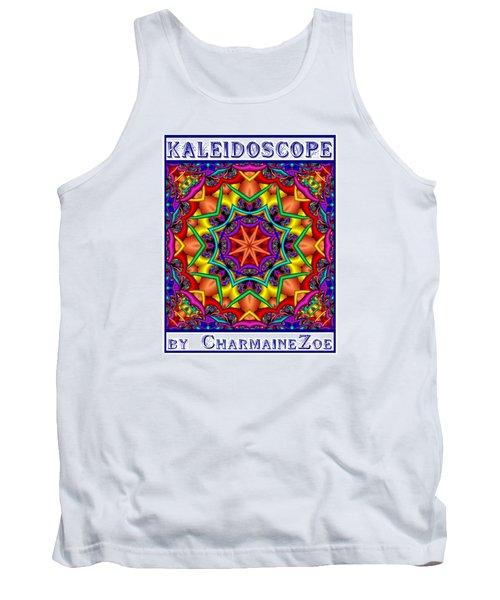 Kaleidoscope 2 Tank Top by Charmaine Zoe