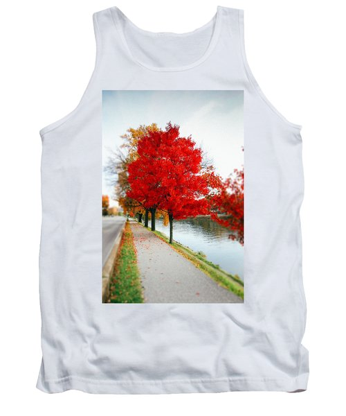 Kanawha Boulevard In Autumn Tank Top