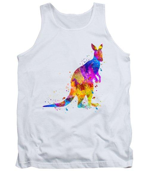 Kangaroo Art Tank Top