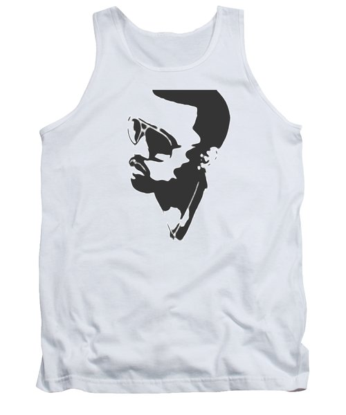 Kanye West Silhouette Tank Top