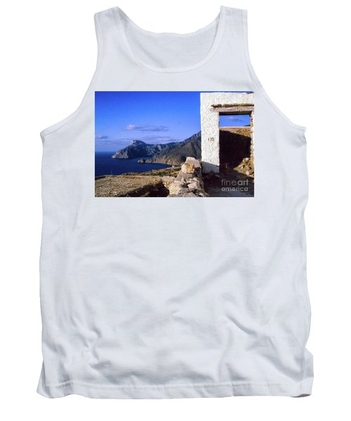 Tank Top featuring the photograph Karpathos Island Greece by Silvia Ganora