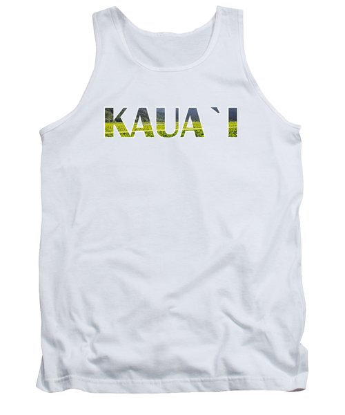 Kauai Letter Art Tank Top