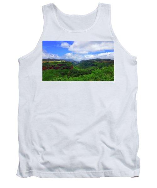 Kauai Mountains Tank Top