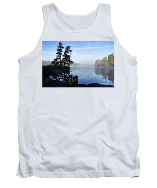 Kawishiwi Morning Tank Top by Larry Ricker