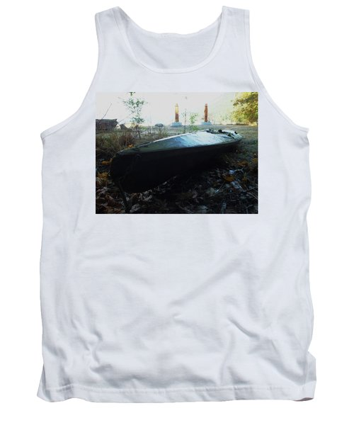 Tank Top featuring the photograph Kayak by Mark Alan Perry