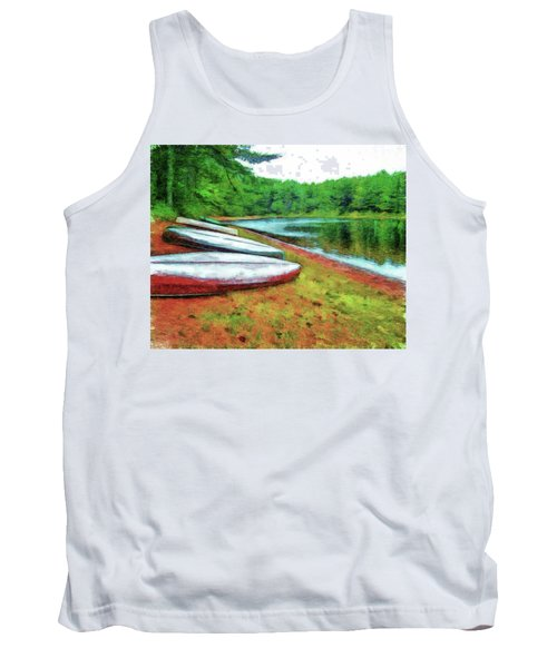 Kearney Lake Beach Tank Top