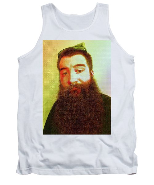 Tank Top featuring the digital art Keefer Mosaic by Shawn Dall