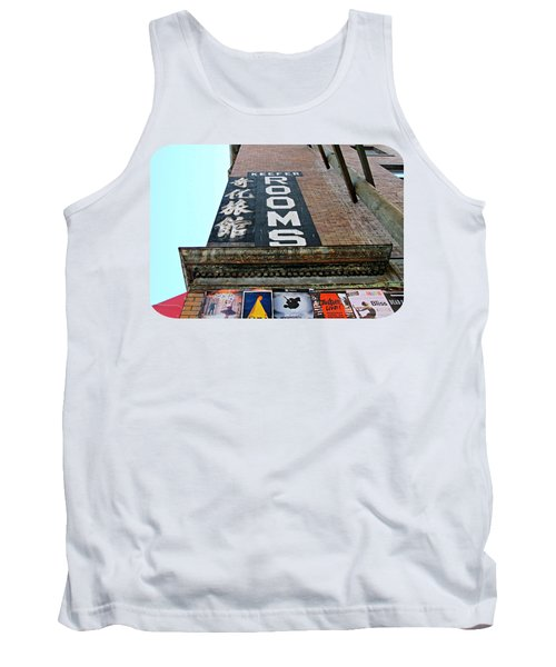 Tank Top featuring the photograph Keefer Rooms by Ethna Gillespie
