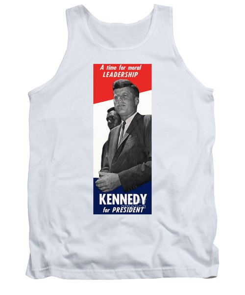 Kenndy For President Tank Top