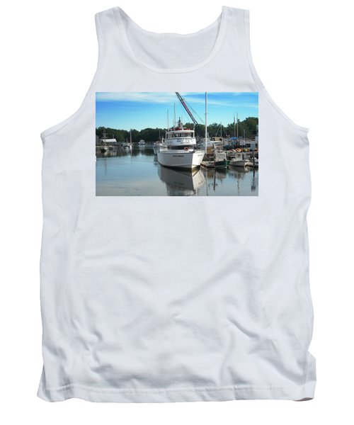 Tank Top featuring the photograph Kennubunk, Maine -1 by Jerry Battle