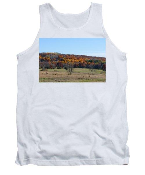 Kettle Morraine In Autumn Tank Top