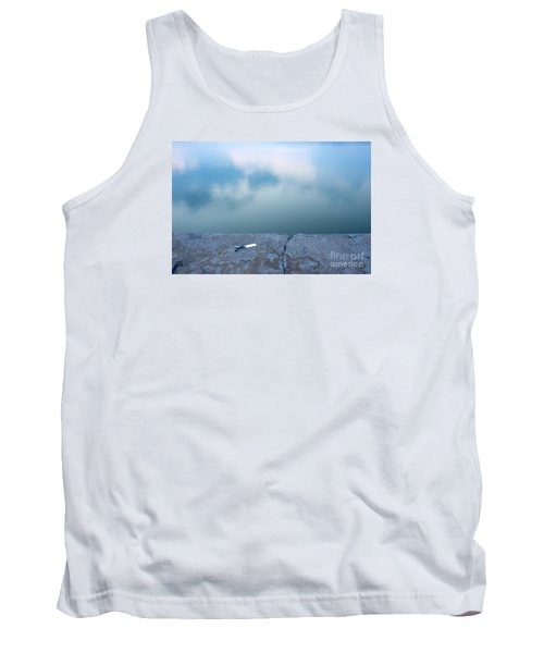 Tank Top featuring the photograph Key On The Lake Shore by Odon Czintos