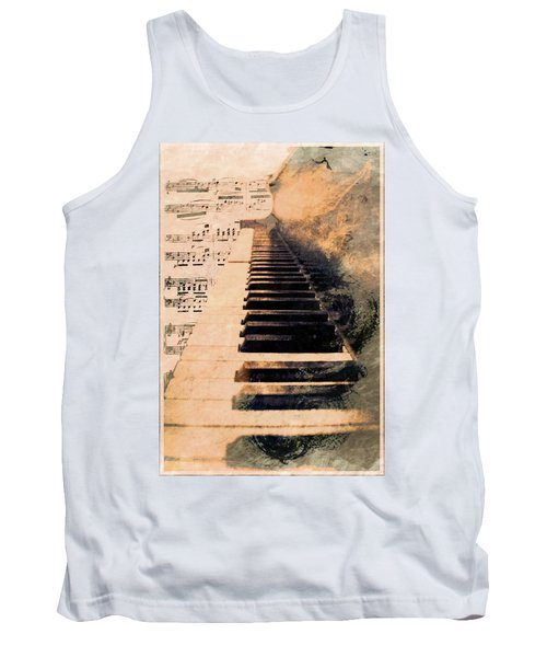 Tank Top featuring the photograph Keys To Greatness  by Aaron Berg