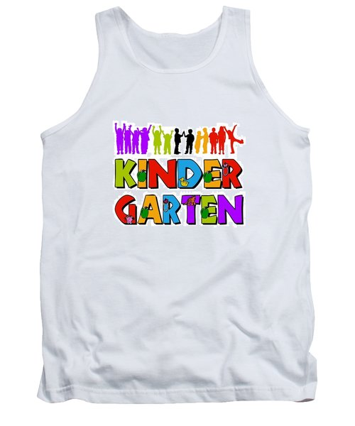 Kids Kindergarten Tank Top