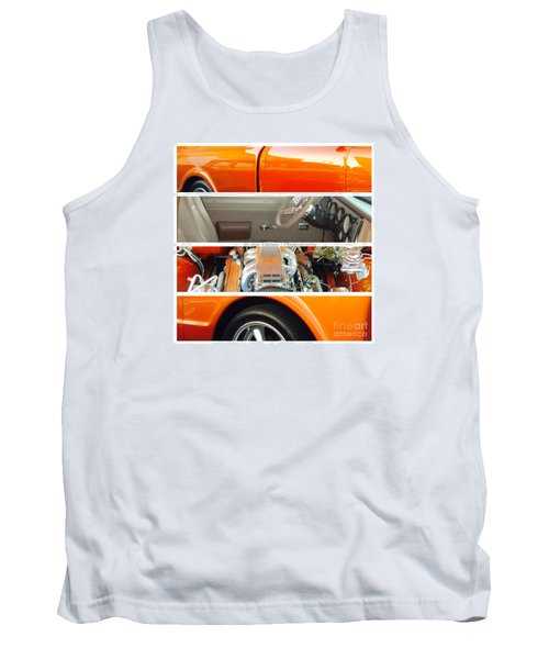 Killeen Texas Car Show - No.2 Tank Top by Joe Finney
