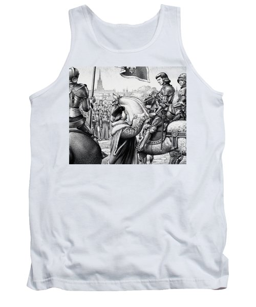 King Henry Vii Tank Top by Pat Nicolle