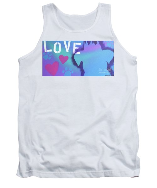 Tank Top featuring the painting King Of My Heart by Melissa Goodrich